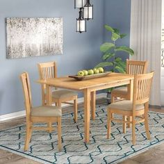 Looking for Balfor Extendable Solid Wood Dining Set Andover Mills ? Check out our picks for the Balfor Extendable Solid Wood Dining Set Andover Mills from the popular stores - all in one. Wood Table Bases, Solid Wood Table Tops, Solid Wood Dining Set, 3 Piece Dining Set, Kitchen Nook Set, Kitchen Dining Sets, Dining Room Sets, Dining Table, Breakfast Nook Dining Set