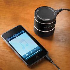 The Room Filling Travel Speaker - Hammacher Schlemmer