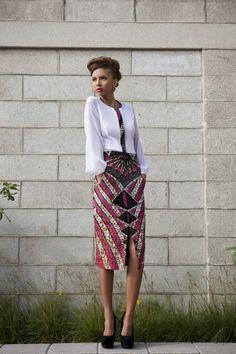 West African skirt - Modahnik, Spring 2013 Collection