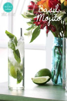 Basil Mojito | Inspired by Charm #drinksandlinks