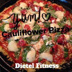 Low carb, low calorie, low Weight Watcher points, gluten free, and pretty dang awesome if you ask me. I love pizza. Who doesn't? Over the years I've cut pizza from my weekly meal plan. We used to o...