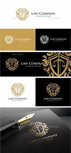 Law Firm Logo: Symbol Logo Design Template created by i_Russu. Law Office Decor, Office Logo, Logo Design Template, Logo Templates, Lawyer Services, Lawyer Logo, Sword Logo, Law Firm Logo, Service Logo
