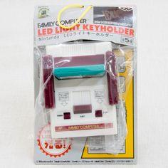 Nintendo Family Computer Zelda Cassette LED Light Figure Key Chain Famicom NES 2