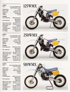 Más tamaños | 1990 Husqvarna MX Lineup | Flickr: ¡Intercambio de fotos!