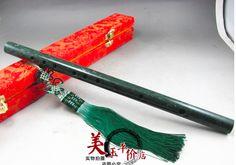 Natural Jade Jade Flute Flute Sound Beautiful Chinese Musical Instrument