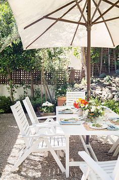 the best outdoor spaces for entertaining on domino.com