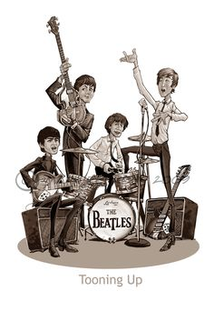 The Beatles, Just One Of My Favorite Music Groups Of All Time. George Harrison Is My Favorite, Yet I Love Them All For Different Reasons. Foto Beatles, Les Beatles, Beatles Art, Ringo Starr, George Harrison, Pop Rock, Rock N Roll, John Lennon, Great Bands