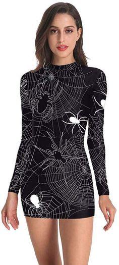 Femmes plus taille squelette halloween long fancy dress costume outfit uk 16-30