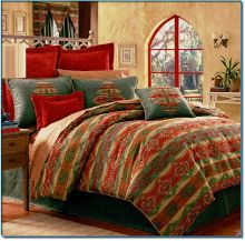 One of my favorite themed decor styles for bedding is western and southwestern. The picante is a great looking comforter set.