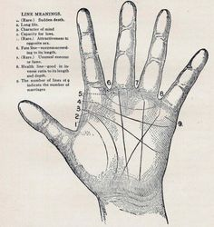 Palm Reading Hand Lines Meaning Read How to get as much as you want out of a 100 % Free Online Psychic Chat? Wiccan, Magick, Witchcraft, White Art, Black And White, Under Your Spell, Hand Lines, Fortune Telling, My Tumblr