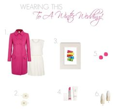 """""""Wearing this to a Winter Wedding!"""" by ladygatsby ❤ liked on Polyvore featuring Mode, Hermès, Moschino Cheap & Chic, Topshop, ZENTS, Oasis, Kate Spade, Sugarfree Shoes, women's clothing und women"""
