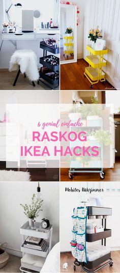 Ich hab X genial einfache IKEA Hacks für den RASKOG Servierwagen für dich gesammelt die ich dir heute gerne zeigen möchte.