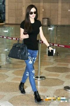 After School Nana airport fashion
