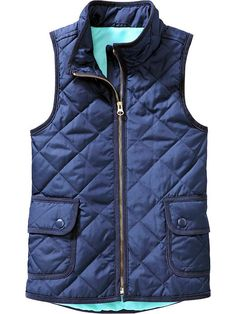 Quilted vest for only $30! I have a slight obsession with vests this year....=D
