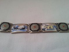 David Anderson Sterling Silver and Enamel by HanseaticJewels