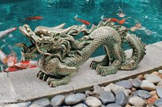 Chinese Dragon to guard your Garden