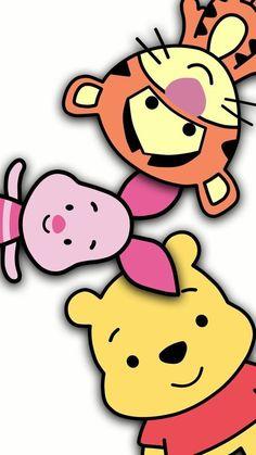Kawaii Disney, Baby Disney, Disney Art, Wallpaper Pooh, Disney Phone Wallpaper, Wallpaper Iphone Cute, Trendy Wallpaper, Iphone Wallpapers, Winne The Pooh