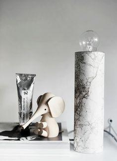 DIY Lampara mármol | Cómo hacer una lámpara de mármol |DIY | Mármol |adhesivo | - Blog