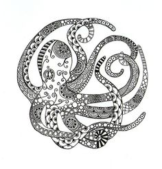 this is so different! I would love to do some kind of patch work on my octopus sleeve like in this clip art!! thank god I saw this before I had anymore work done to it.