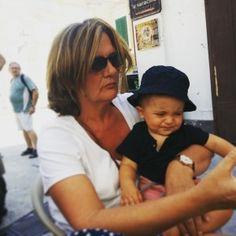 mamik and son