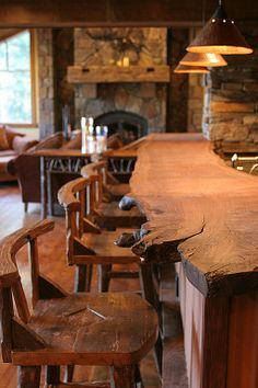 Rustic Bar - Found on Zillow Digs. What do you think?