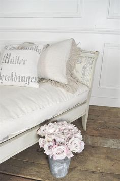 Vintage Swedish Daybed by FullBloomCottage on Etsy