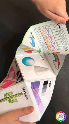 Art Education Lessons, Art Lessons Elementary, Art Lessons For Kids, Art For Kids, Visual Art Lessons, Art Education Projects, Elementary Schools, Classroom Art Projects, School Art Projects