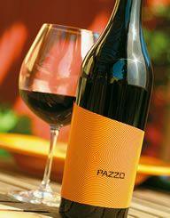 "Pazzo - Bacio Divino Cellars, Wine Label & Package Design by CF Napa Brand Design as featured in ""99 Bottles of Wine""  www.99bottlesofwine.com"