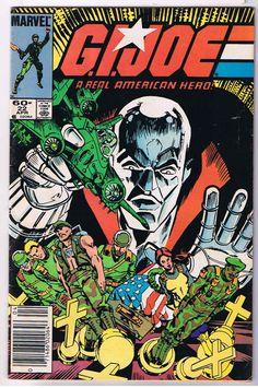 Gi Joe comic   cover   joe a real american hero comic book 22 g i joe a real american ...
