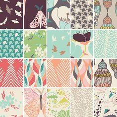 photo by fat quarter shop's blog : fabric Designer Tidbits ; Winged by Bonnie Christine