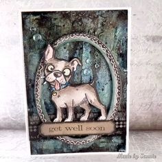 Made by Sannie: Pets Corner card with video tutorial