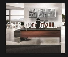 Office Metal Wall Art Corporate Decor Abstract by ColdEdgeGallery, $345.00