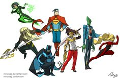 Justice League redesigned! by MrRizeAG on DeviantArt