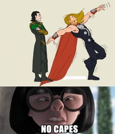 I can not tell you how hard I laughed. // #Marvel #Comics #Thor #Loki #Disney #TheIncredibles