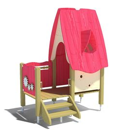 "Product description ""playo play house Fox's burrow"" This play house with its integrated play functions and seating is a cosy retreat. Through the window, the Through The Window, Autocad, Playground, Cosy, Toddler Bed, 3d, Model, Free, Furniture"