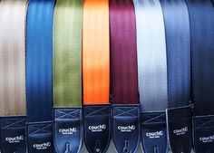 Recycled Seat Belt Guitar Strap - Vegan Eco Friendly Guitar Strap - 8 colors to choose from. $22.95, via Etsy.