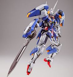 GUNDAM GUY: Tamashii Web Shop Exclusive: Metal Build GN-001/hs-A01 Gundam Avalanche Exia - New Images & Release Info [Updated 11/5/14]