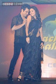 Rithvik Dhanjani & Asha Negi at Nach Baliye 6 Launch in Mumbai on 25th Oct 2013
