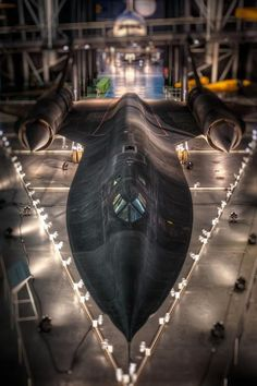 SR-71 at Udvar Hazy Museum-- part of the Smithsonian Air and Space Museum---DC