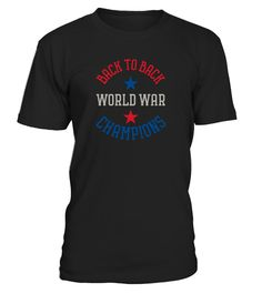 Funny Back-to-Back World  Tshirt