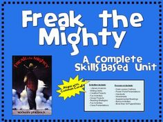 freak the mighty essay prompts