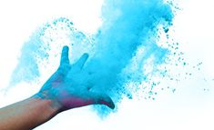 Holi Color Powder True Blue 10 Pack of 70 Grams Each >>> You can get more details by clicking on the image. (This is an affiliate link) Gender Reveal Powder Bomb, Gender Reveal Smoke, Orange And Purple, Magenta, Pink, Blue Green, Navy Blue, Yellow, Green Powder