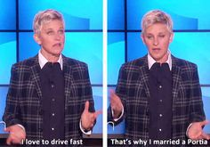 Feelings of annoyance, stress, pain and anger would melt away cause you'd be laughing all the time!   17 Reasons Ellen DeGeneres Should Be President Of The World