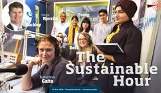 Changing climate – changing people | The Sustainable Hour no 121 on 11 May 2016 with Katerina Gaita, Director of Climate for Change, Tim Buckley, Director of Energy Finance Studies, Fanny Beck, Zoe Tseng and four other Deakin university students, and their teacher, Steve Hjerrild.