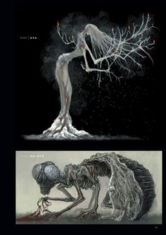 Dark Souls 3 Concept Art - Enemy Concept Art