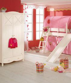 Very cool little girl's bedroom