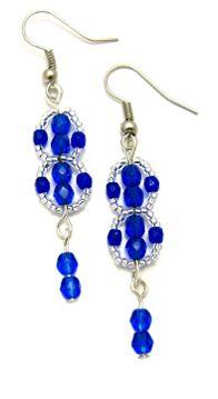 Free Pattern! Flat Spiral Earrings by Amari's