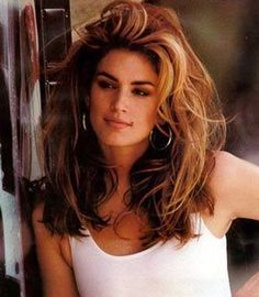 Cindy+Crawford+Early+Modeling | Cindy Crawford, The Supermodel Software Theory
