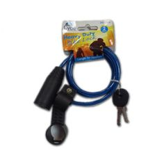 Heavy Duty Bicycle Lock ‪#‎Wholesale‬ Supplies in ‪#‎UK‬ by Clearance King. Available for just £0.55 per piece. ‪#‎bicyclelock‬ ‪#‎bikelock‬ ‪#‎wholesalelocks‬ Order Now: http://goo.gl/e3mbQW