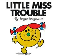 Buy Little Miss Trouble Mr Men and Little Miss by Roger Hargreaves at Mighty Ape NZ. The Mr Men and Little Miss series of titles now feature spine art. Collect the 33 Little Miss titles so the spine art reveals a picture when all title. Little Miss Characters, Little Miss Books, Mr Men Little Miss, Cartoon Characters, Little Miss Sunshine, Miss Title, Petite Miss, Monsieur Madame, Elizabeth Gilbert